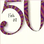 50th Birthday Card - Fab at 50